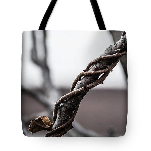 What A Twist Tote Bag