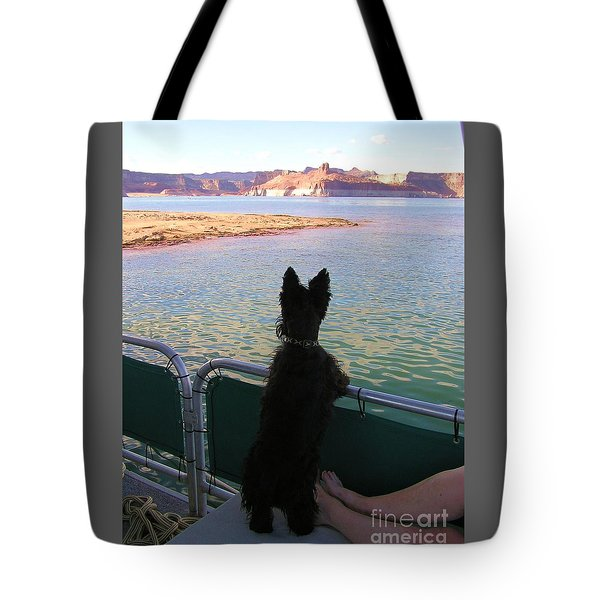 Tote Bag featuring the photograph What A View by Michele Penner