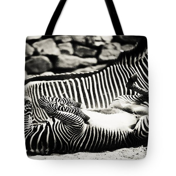 What A Wonderful Life Tote Bag by Jenny Rainbow