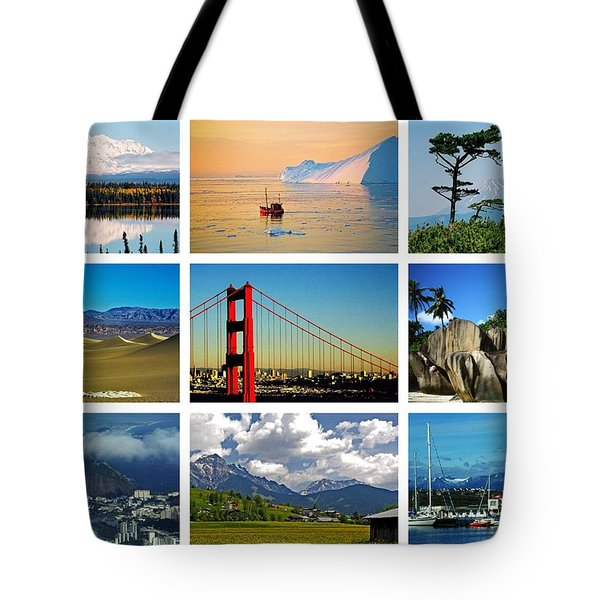 My Wonderful World ... Tote Bag
