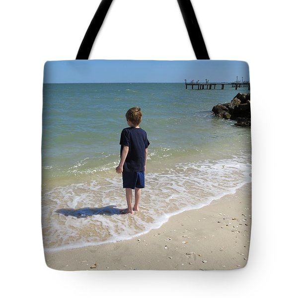 Tote Bag featuring the photograph What Boys Are Made Of by Ella Kaye Dickey