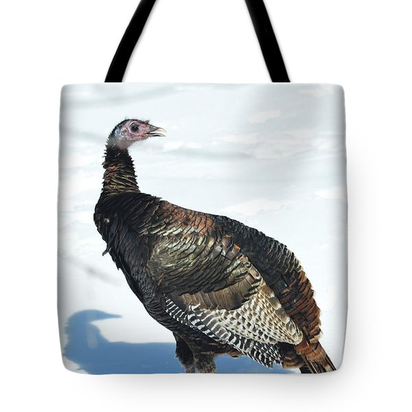 Tote Bag featuring the photograph What Do You Think This Jake Is Saying? by Dacia Doroff