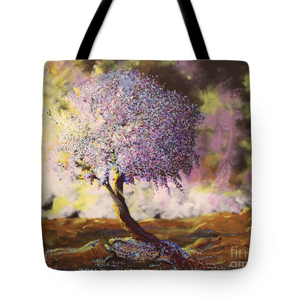 What Dreams May Come Spirit Tree Tote Bag
