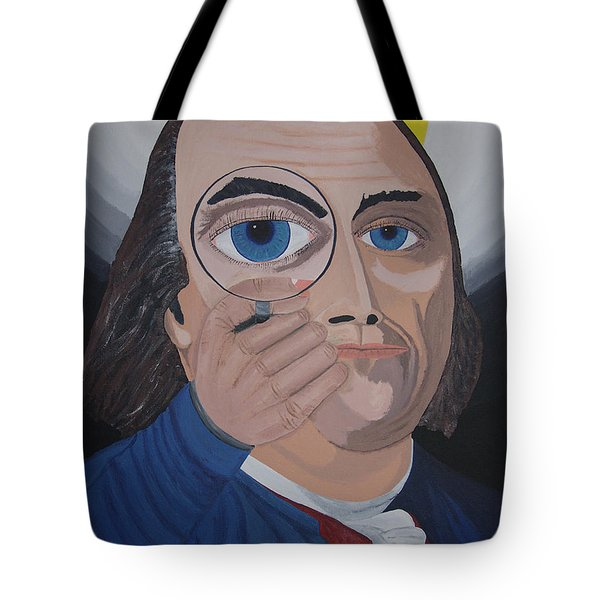 What Have You Done Tote Bag by Dean Stephens