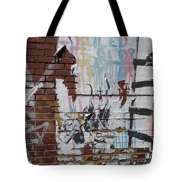 Tote Bag featuring the photograph What If Art Ruled The World? by Lesley Fletcher