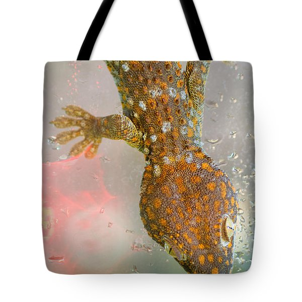 What If Tom Cruise Was A Gecko Tote Bag