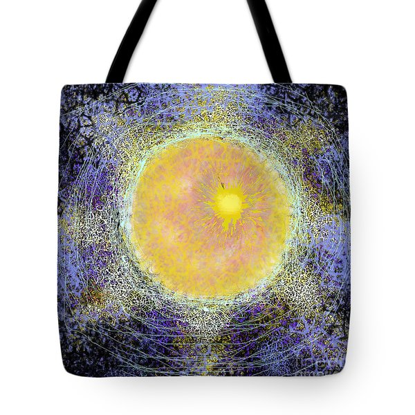 What Kind Of Sun V Tote Bag by Carol Jacobs