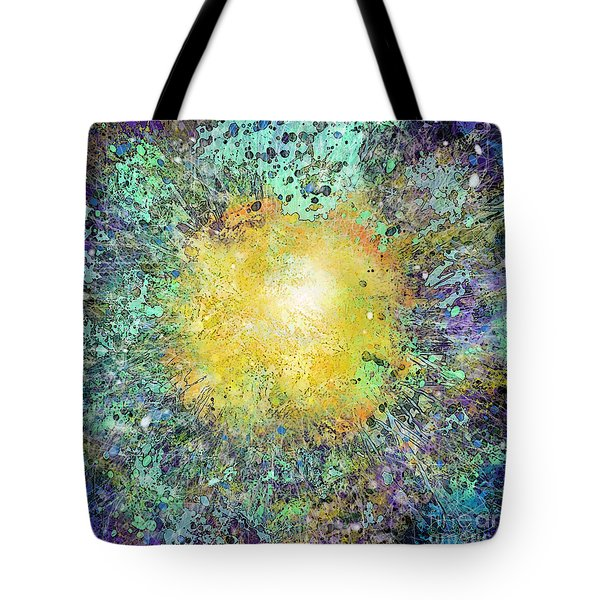 What Kind Of Sun Vii Tote Bag by Carol Jacobs