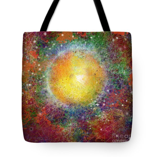 What Kind Of Sun Viii Tote Bag by Carol Jacobs