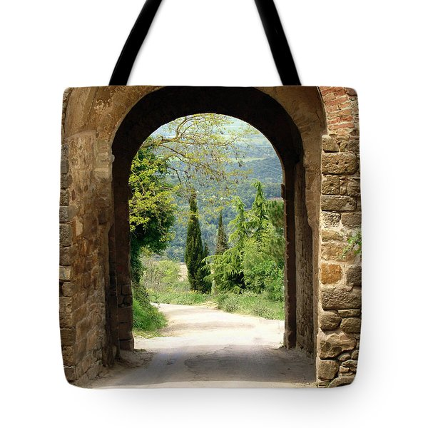 What Lies Ahead Tote Bag by Ellen Henneke