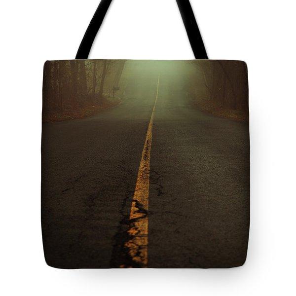 What Lies Ahead Tote Bag by Karol Livote