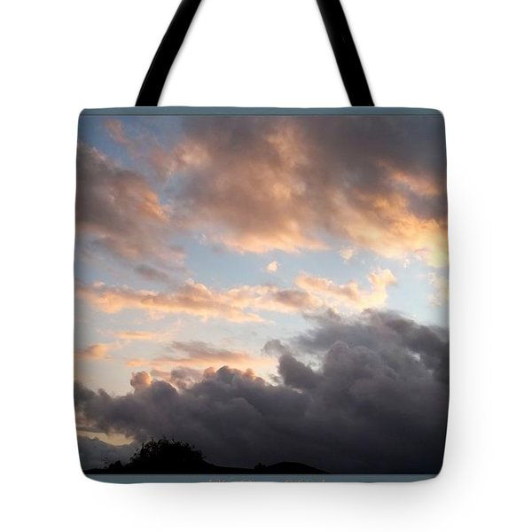 What Remains Of Day Tote Bag by Glenn McCarthy Art and Photography