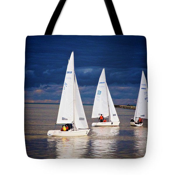 Tote Bag featuring the photograph What Storm by William Norton