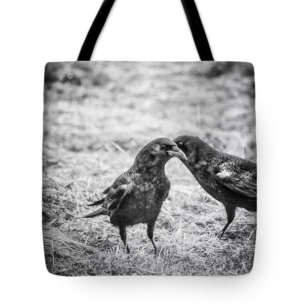 What The Raven Said Tote Bag