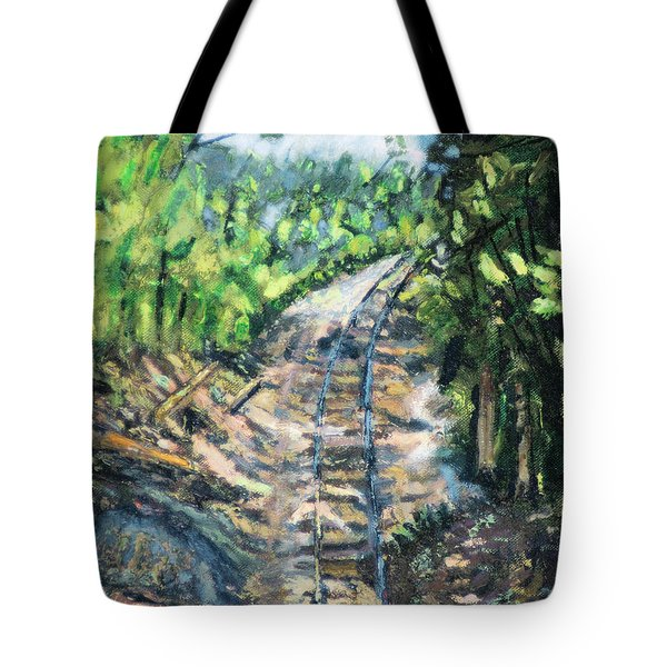 What's Around The Bend? Tote Bag