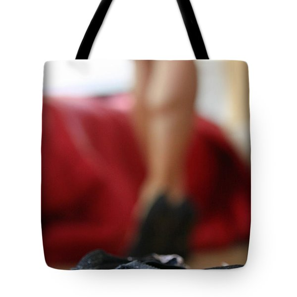 Tote Bag featuring the pyrography What's Next? by Shoal Hollingsworth