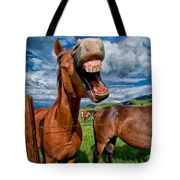What's So Funny Tote Bag by Cat Connor