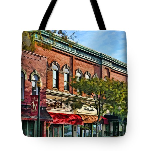 Wheaton Front Street Stores Tote Bag