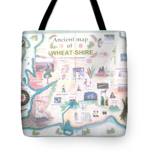 Wheatshires Aincient Map Tote Bag