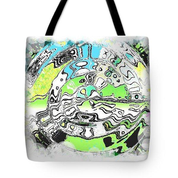 Wheel 2 Tote Bag by Carol Rowland