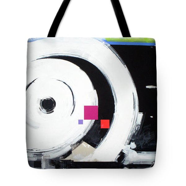Wheel Of Fortune Tote Bag by Jean Pierre Rousselet
