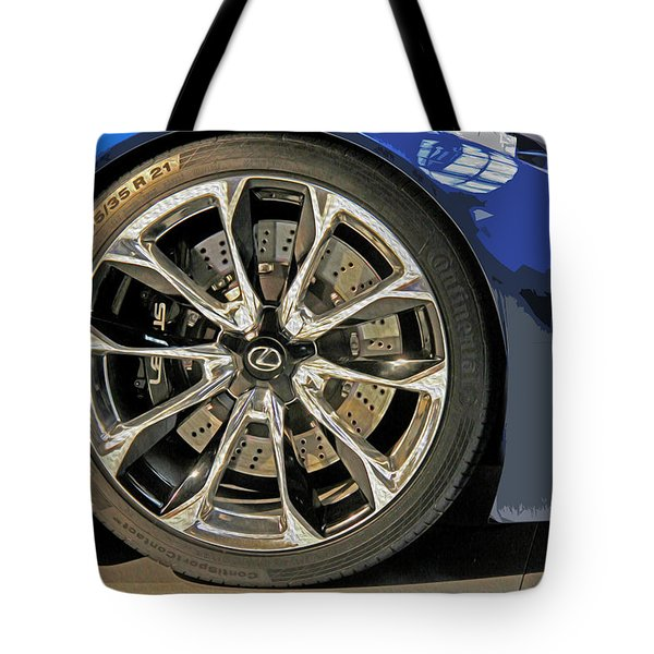 Wheel Of The Future Tote Bag by Tom Gari Gallery-Three-Photography