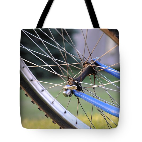 Tote Bag featuring the photograph Wheeling by Susie Rieple