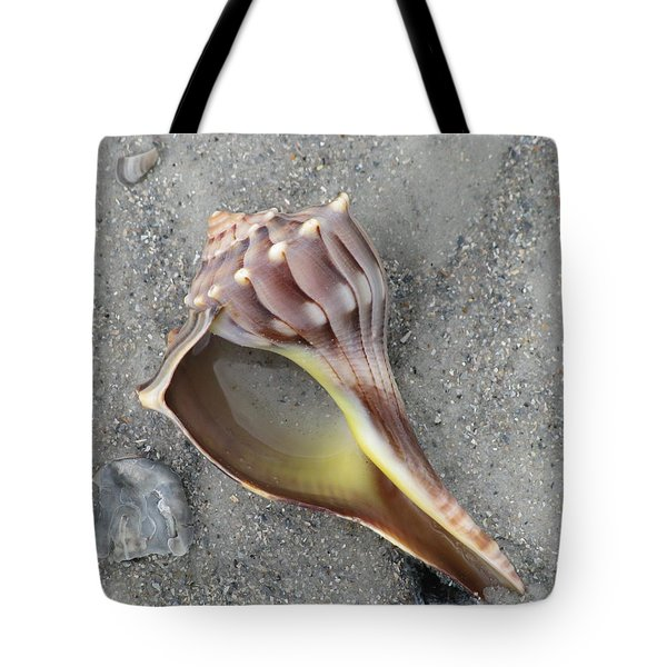 Whelk With Sand Tote Bag