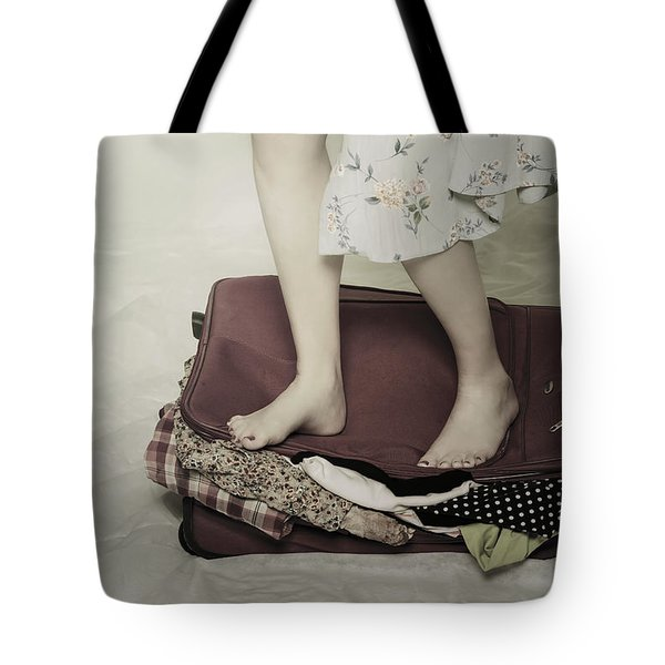 When A Woman Travels Tote Bag by Joana Kruse