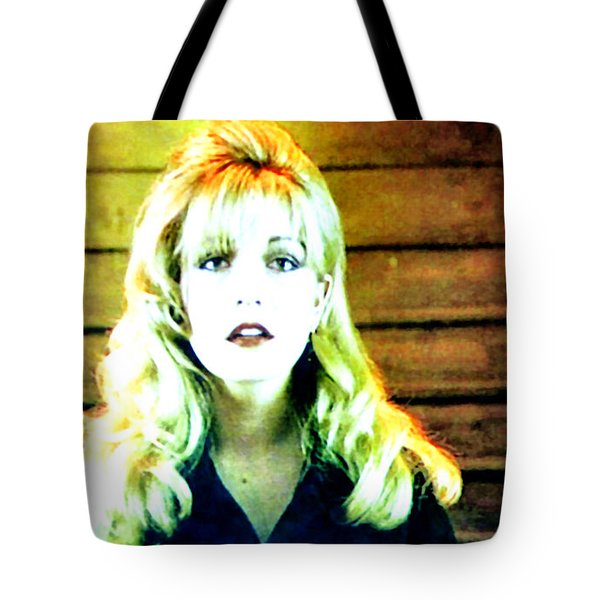 Tote Bag featuring the painting When All The World Seemed To Sleep by Luis Ludzska