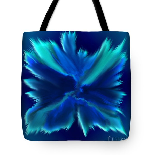 Tote Bag featuring the digital art When Angels Are Born - Spiritual Art By Giada Rossi by Giada Rossi