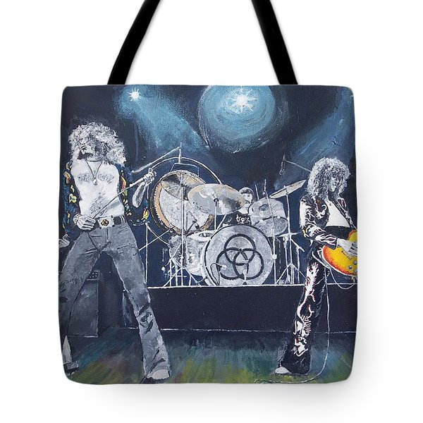 When Giants Rocked The Earth Tote Bag
