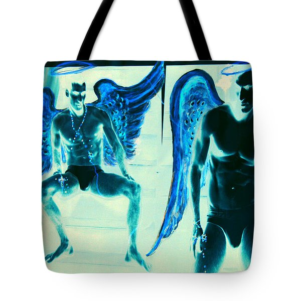 When Heaven And Earth Collide Series Tote Bag