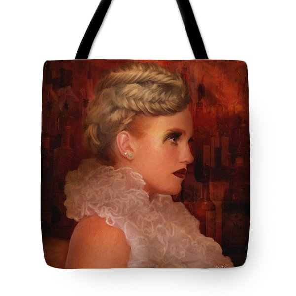When In Paris Visit The Moulin Rouge Tote Bag by Angela A Stanton