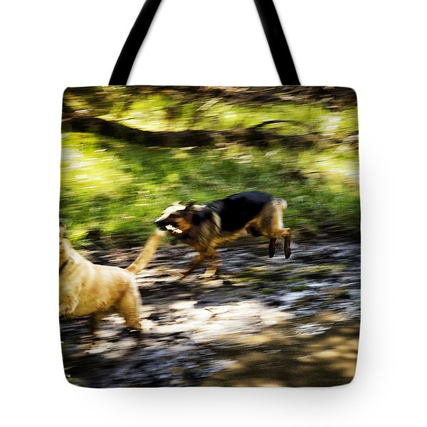 When Life Gives You A Mud Puddle . . . Tote Bag by Belinda Greb