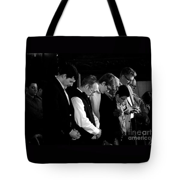 When Men Put God First Tote Bag