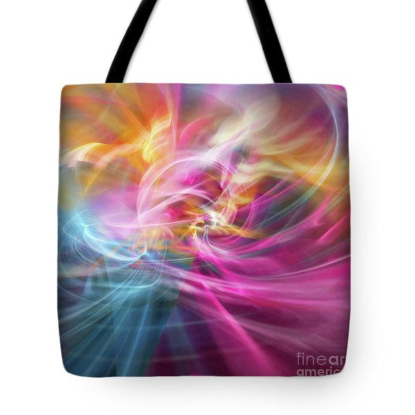 Tote Bag featuring the digital art When Prayers Enter The Throne Room by Margie Chapman