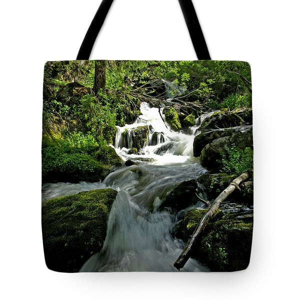 When Snow Melts Tote Bag