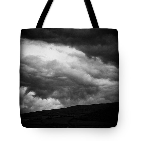 When The Clouds Come Rolling In Tote Bag