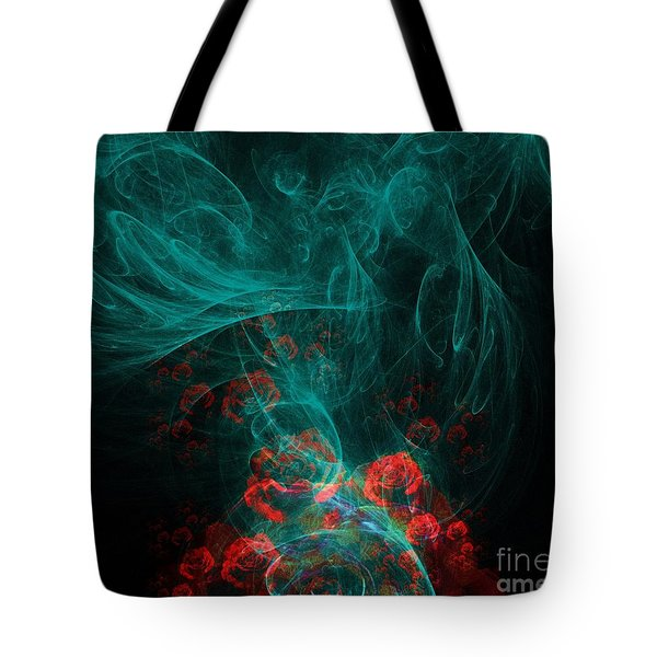 When The Smoke Clears They Bloom Tote Bag by Elizabeth McTaggart