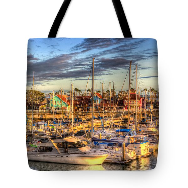 When The Sun Goes Down Tote Bag by Heidi Smith