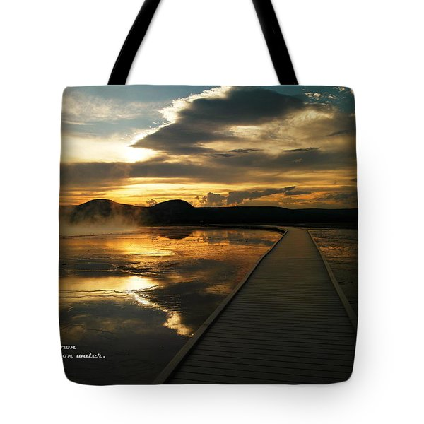 When You Believe Tote Bag by Jeff Swan