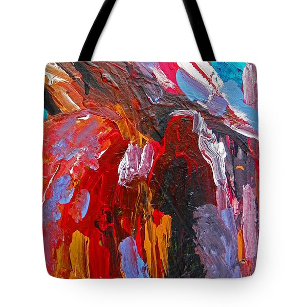 When You Least Expect Me Tote Bag by Judith Redman