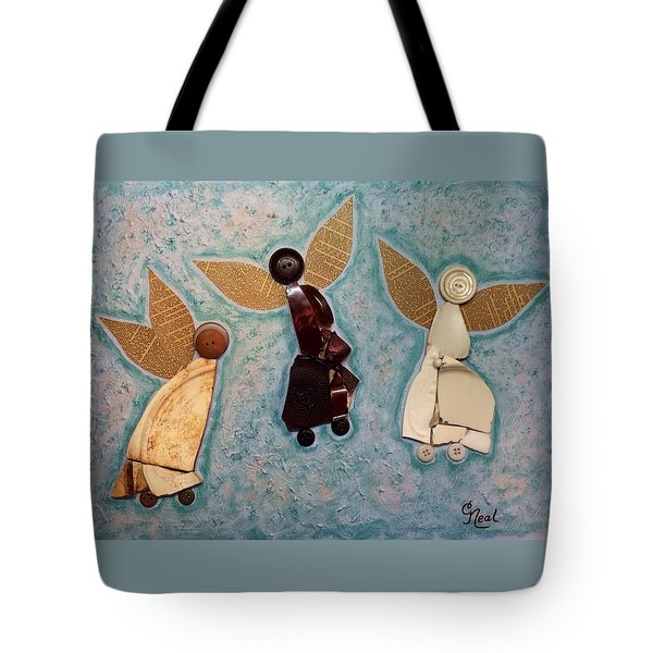 Where All Is Peace And Joy And Love Tote Bag