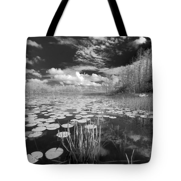 Where Angels Walk Tote Bag