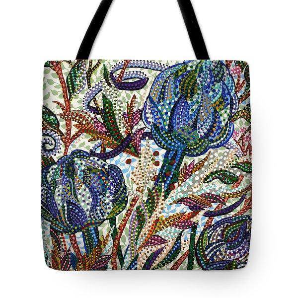 Where Clover Grows Tote Bag by Erika Pochybova