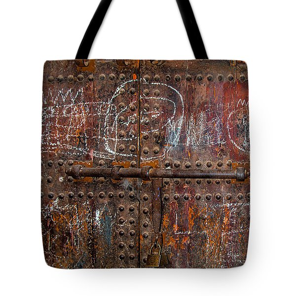 Marrakech Door Tote Bag
