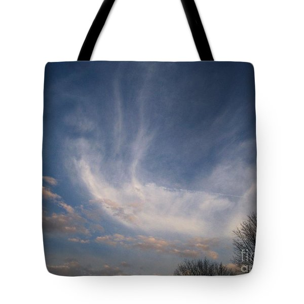 Where Does The Wind Come From Tote Bag