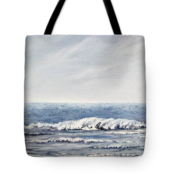Where I Want To Be Tote Bag by Todd A Blanchard