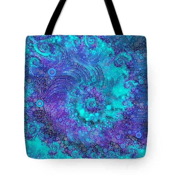 Where Mermaids Play Tote Bag